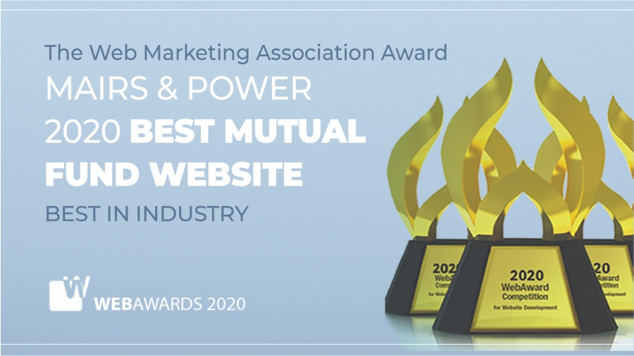 Mairs & Power Wins Best Mutual Fund Website Award