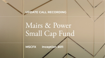 Q2 2020 Small Cap Fund Update Recording
