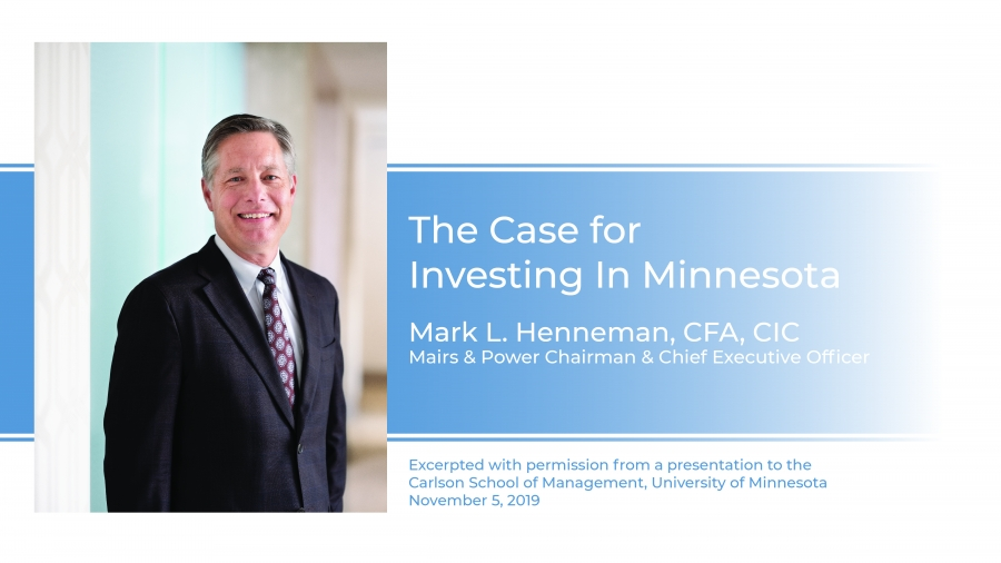 Why Minnesota Works for Investors Video Presentation