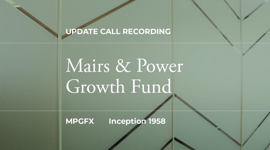 CIO Growth Fund Update Recording