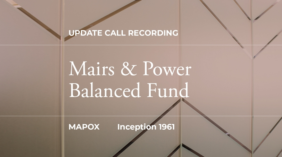CIO Balanced Fund Update Recording